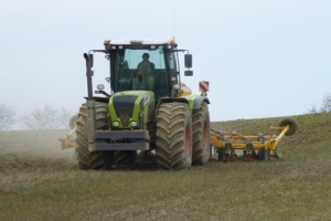Direct drilling with the Claydon Drill