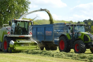 First Cut Grass Silage 2015