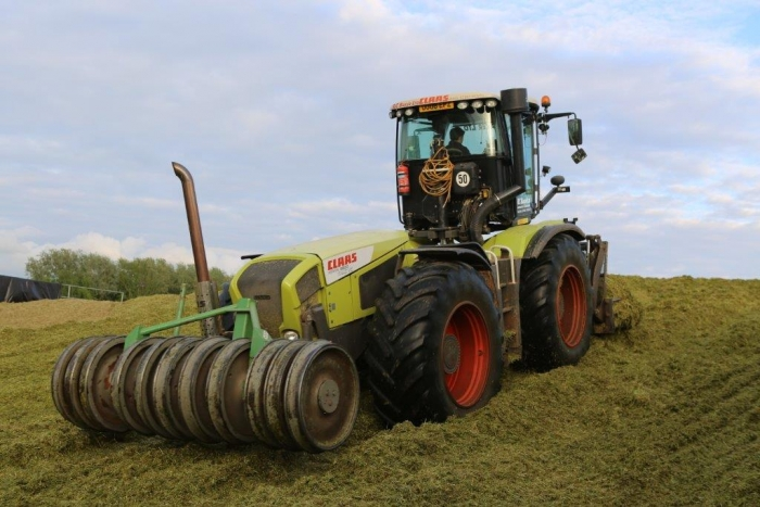Rolling the clamp