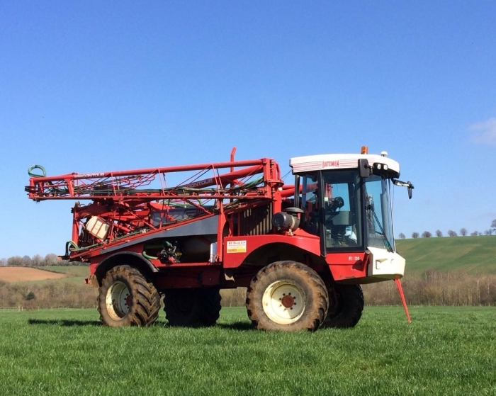 Our Bateman RB26 Sprayer