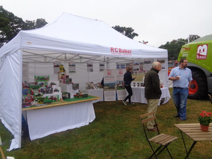 Pocket Farming who are based at Spring Hill Farm also joined us for the day with their stand of model tractors