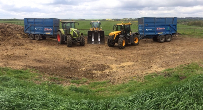 Muck Spreading Team