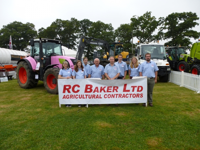 The R C Baker Team!