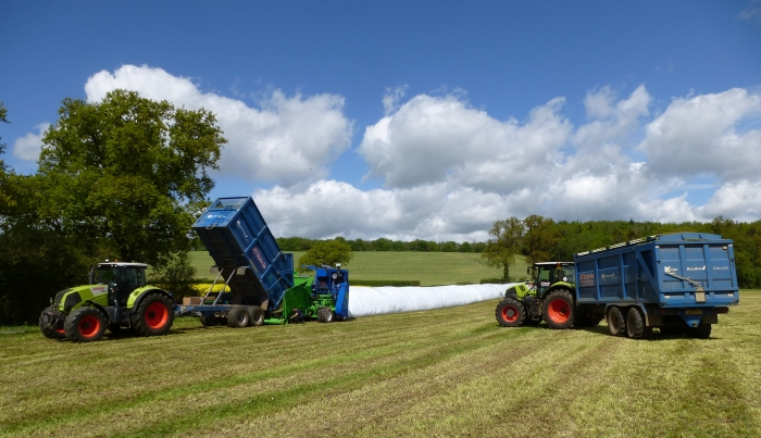 AgBag Storage for 1st Cut Silage