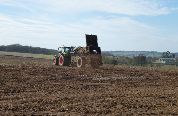 Muck Spreading at Cold Harbour