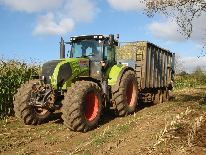 Silage carting