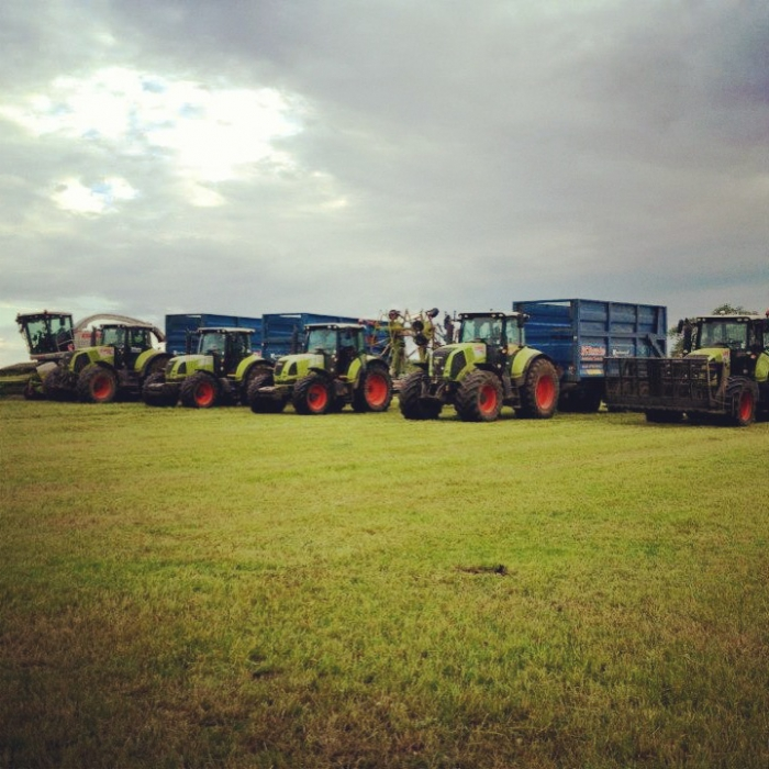 Silage team line up