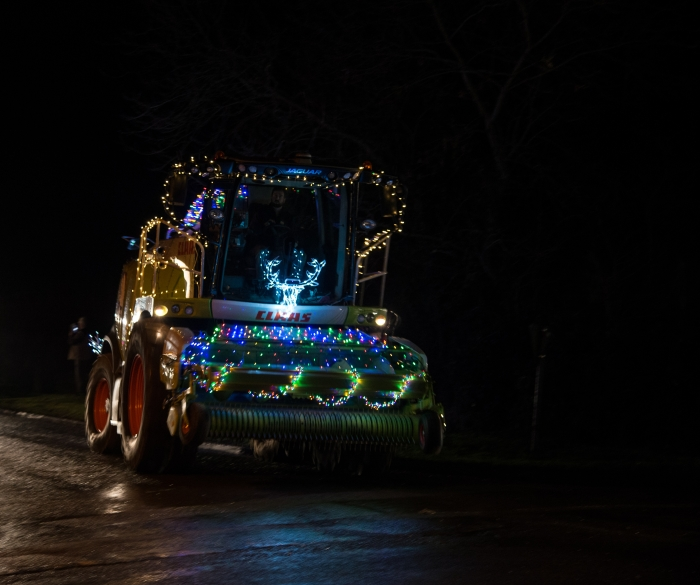 Our 970 Jaguar Forager looking rather festive!