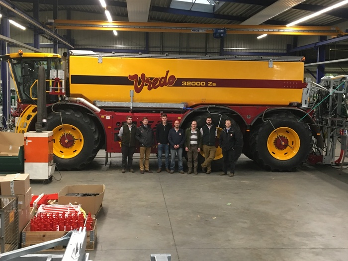 Team trip to Holland to see the new Vredo Tanker