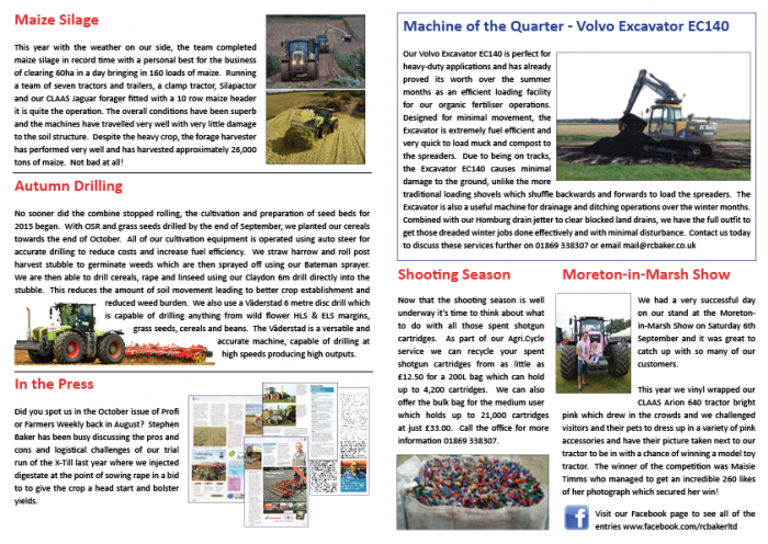 Winter Newsletter 2014 Page 2