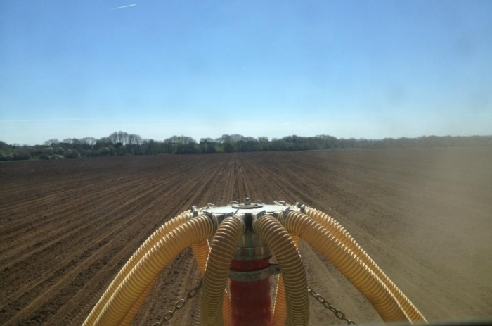 Drilling maize made easy with autosteer!