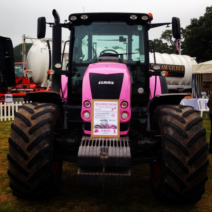 The main attraction - a Pink Axion 640!
