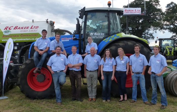 RC Baker Team at Moreton Show