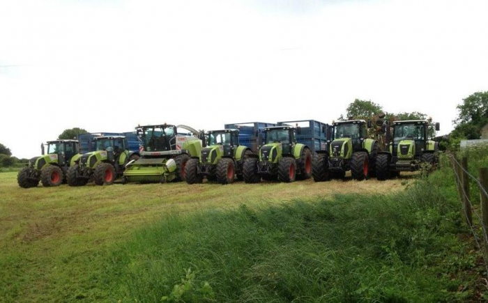 The silage team June 2012